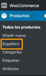 Suppliers - Proveedores