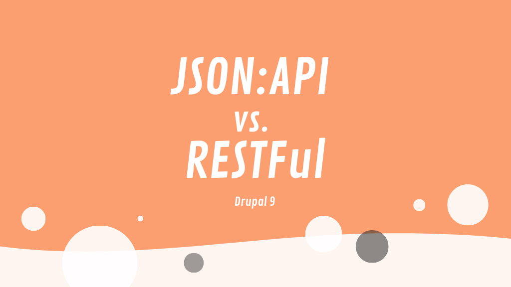 JSON:API vs. core's RESTFul module